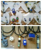 Doctor Who Inspired Jewellery by tyney123