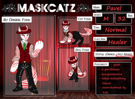Maskcatz Reference - Pavel by ll-Silver-ll