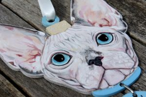 Pet Portrait - Frankie, close up by Ideas-in-the-sky