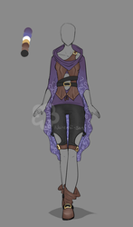 Fantasy Outfit #4 - Auction closed by Nahemii-san
