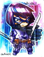 Hit Girl 001 by Dve6