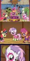 CUTIE MARK ENTERTAINERS YAY by MOGNECIOtheBRAVE