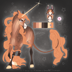 AT: Unicorn Design for Sunny by Rikailiahn