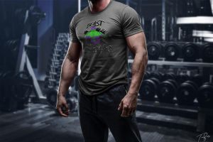 Beast Unleashed T-Shirt Mockup by HZ-Designs
