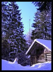 winter in Alps by mutrus