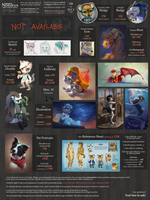Commission Price Sheet (old) by Nordeva