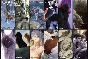 2017 Art Summary by Aminirus
