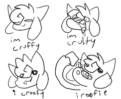 CROOFIES by kittydogarbage