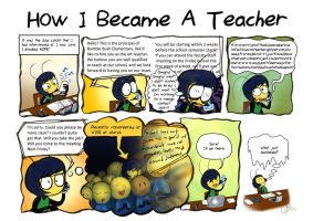 Beeswhacks test 009- How I Became A Teacher by InYuJi