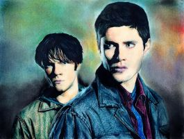 supernatural: sam and dean by chemcial23