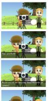 TomoDachi life page 4 (Ben takes a picture of me) by MC-Gemstone
