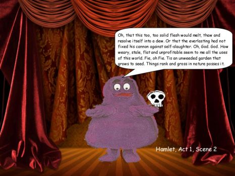 Before Grimace was a celebrity by sideshowjane