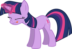 Twilight Sparkle Casting Magic Vector by Thorinair