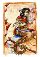 Maidens of the Seven Seas - Native American. by Grunnet