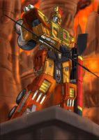 Sentinel Prime by hansime