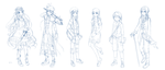 Random Character Designs and Stuff or Something by CyiV