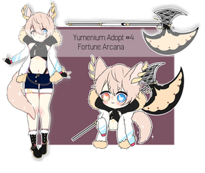 Yumenium Adopt #4: Fortune Arcana - closed by reojin