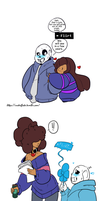 Undertale: Just wait by Geeflakes-art