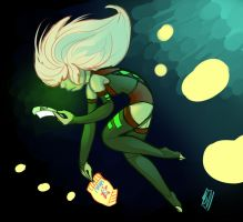 Centipeedle by space-lobster
