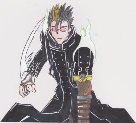 Dark Vash by Zanees