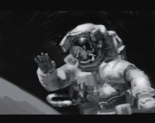 Astronaut Study by octomanz