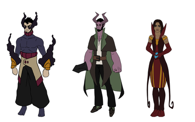Comic Characters by DevisedLateott