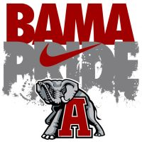 Bama Pride by AdamGreenGFX