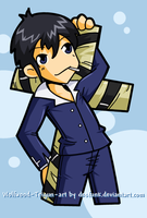 Trigun - Wolfwood all cuted up by desfunk