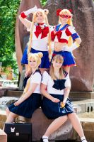 Sailor Scouts by BellaHime