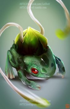 pokemon project 001 Bulbasaur byLo0bo0 by Lo0bo0