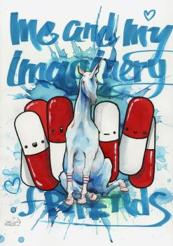 IMAGINARY FRIENDS by lora-zombie