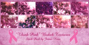 Think Pink: Bokeh Textures by Jenna-Rose