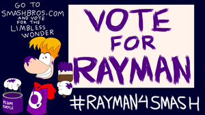 Vote for Rayman by SegaNintendoUbisoft
