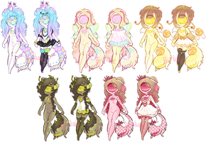 Slugoii guest adopts:closed by BiiaBabe