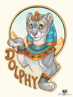 Egyptian Dolphy - Badge by DolphyDolphiana
