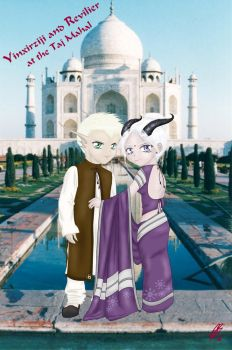 Yin and Rev Indian Style by LadyOyuki