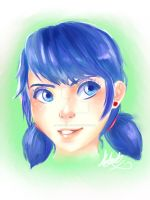 Marinette (Miraculous) by anime-girl1709