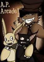 A.P. Arcade Poster by OpalesquePrincess