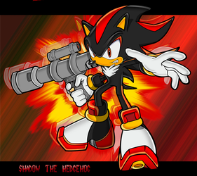Shadow the hedgehog by ShockRabbit
