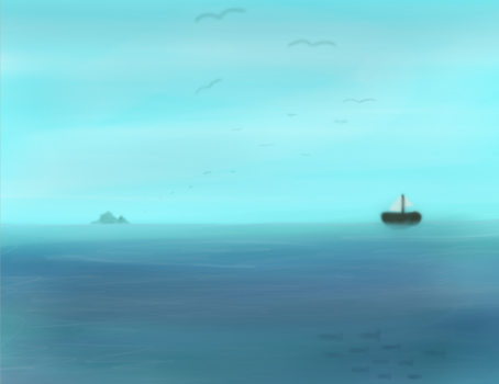 Out To Sea! by fangirlscreamover9