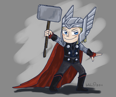 The Mighty Avenger by katribou