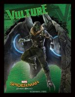New Spider-Man: Homecoming Vulture Promo Art by Artlover67