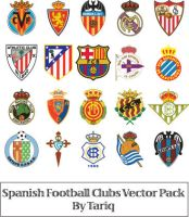 Spanish Football Clubs Logos by tariqelamine