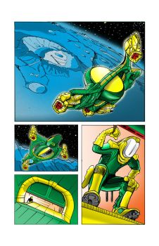 Full Comics Page  ::Colors:: by DonGarvey