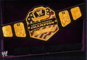 WWE UNITED STATES CHAMPIONSHIP by imranbecks