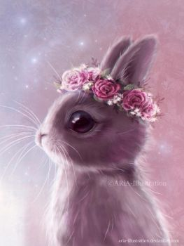 Fairy bunny by ARiA-Illustration