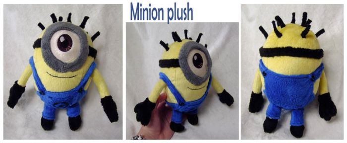 Minion Plush by scilk