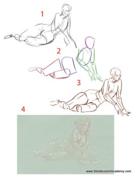 Tutorial - Figure Drawing 05 by sheldonsartacademy