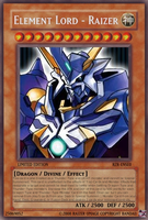 Yu-Gi-Oh Card: Element Lord 1 by RazerDragonXSE