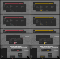 Numix Dark Pink and Yellow Theme Win10 April 1803 by Cleodesktop